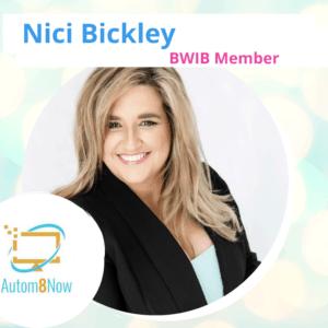 Nici Bickley - Autom8 Now